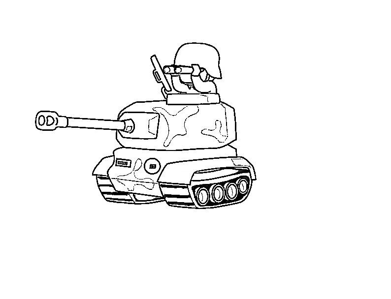 En Iyi Tank Boyama Sayfasi Super Cocuk Boyama Kitabi