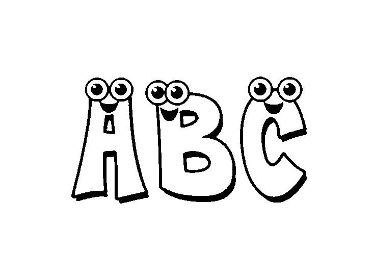 ABC Malvorlagen - Alphabet Kinder für Ausmalbilder - Super ...