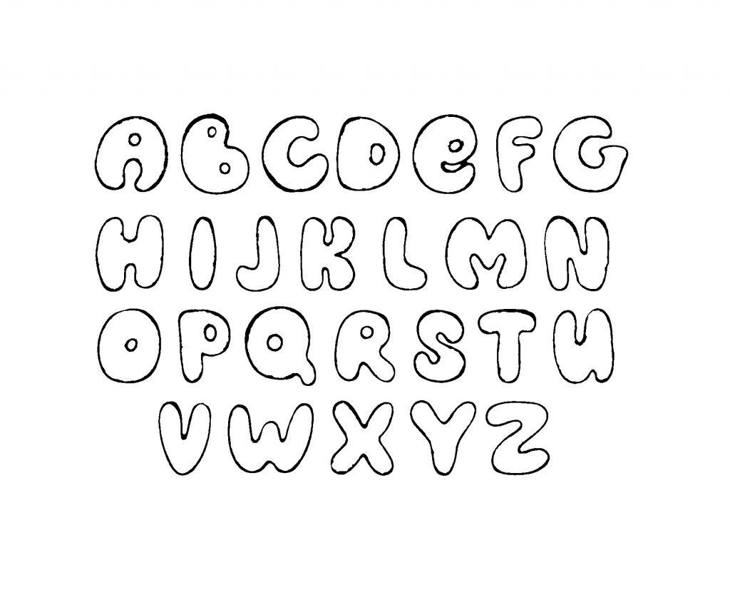 ABC Malvorlagen - Alphabet Kinder für Ausmalbilder » Super Malvorlage