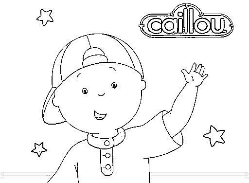 Caillou Ausmalbilder Kostenlos Für Kinder