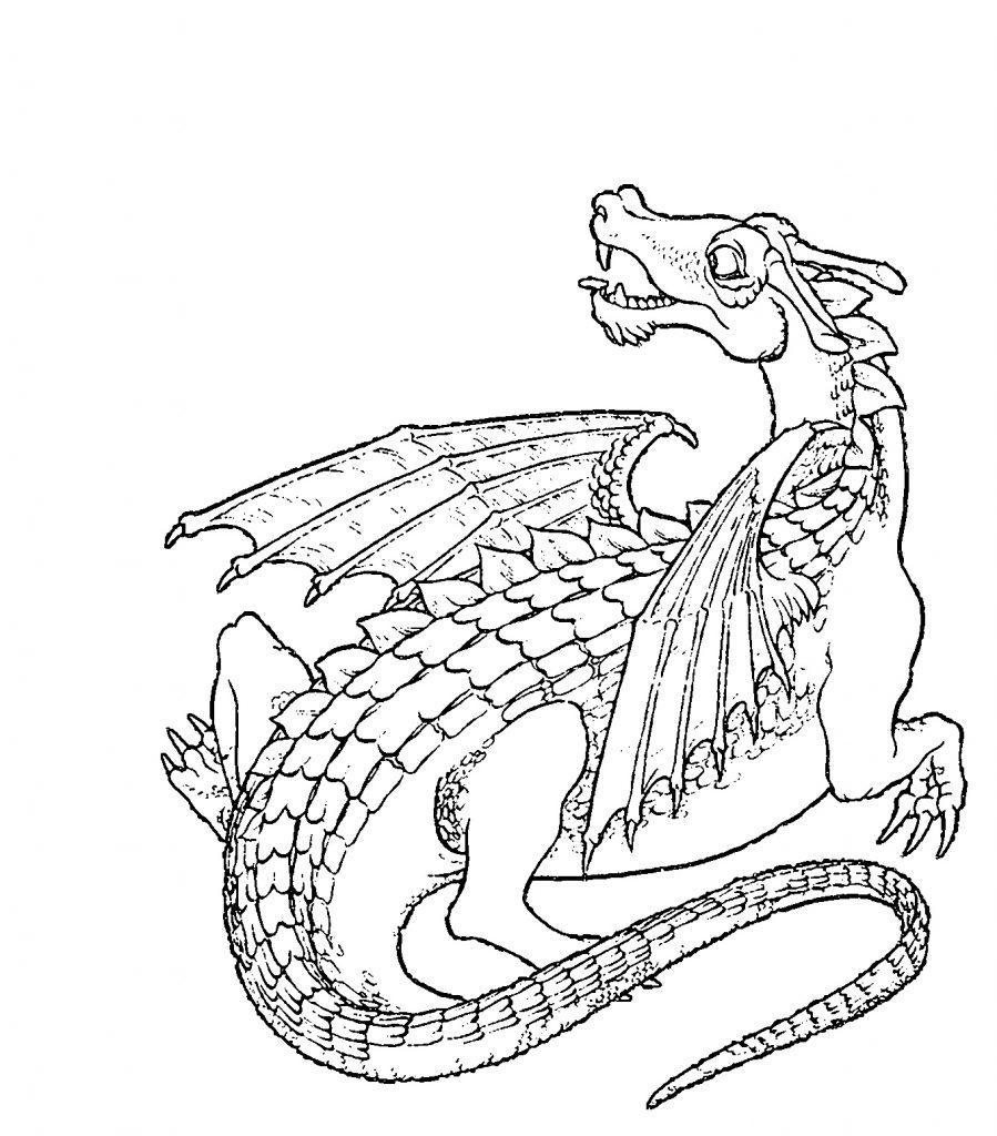 Ausmalbilder Drachen Bilder Zum Ausdrucken Super Malvorlagen
