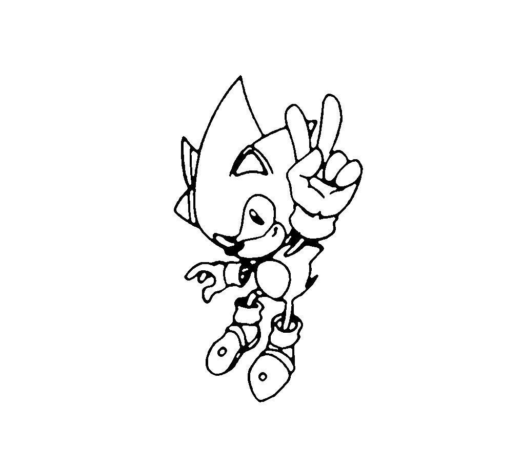 Sonic Boom Boyama Sayfaları