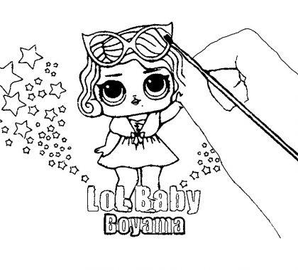 Lol Bebek Boyama Sayfası Supercocuk