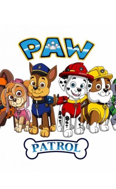 Paw Patrol Bilder Zum Ausdrucken mit Malen
